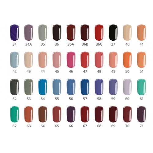 Gel Base One 05 Bright Coffe Color Silcare  SILCARE