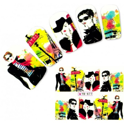 Pigment Chameleon 06 Thermo Pudra Unghii  HOLLYWOOD PERFECT NAILS