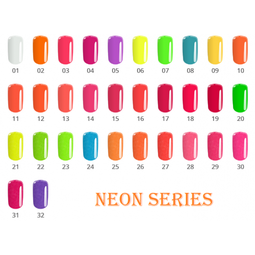 Gel Neon 17 Ruby Pink Base One Silcare  SILCARE