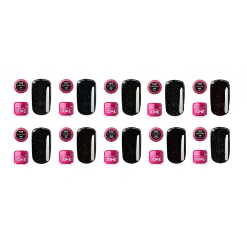 Gel Neon 26 Burning Base One Silcare  SILCARE