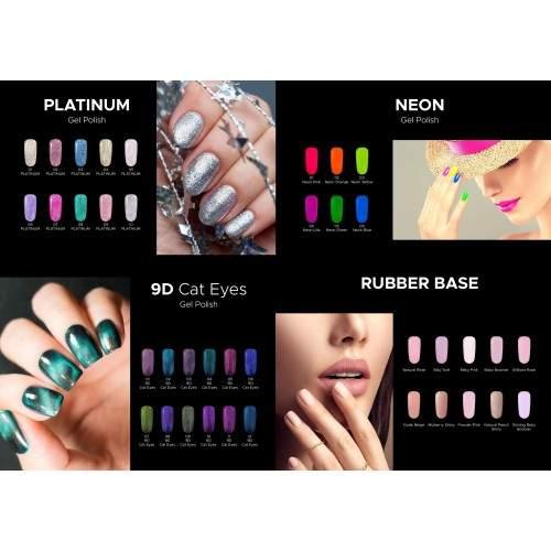 Tatuaje Unghii GOLD 24K IARNA SET 3  HOLLYWOOD PERFECT NAILS
