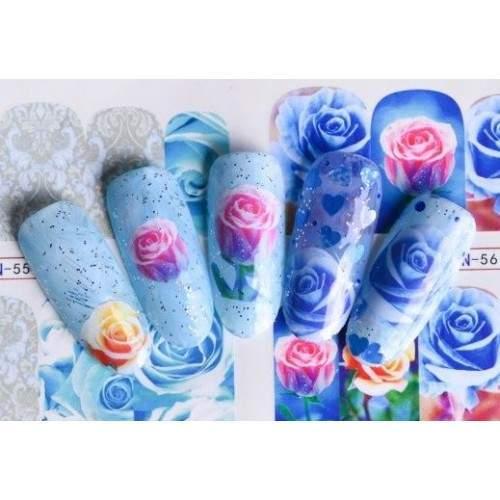 Tatuaje Unghii GOLD 24K NUNTA SET 3  HOLLYWOOD PERFECT NAILS
