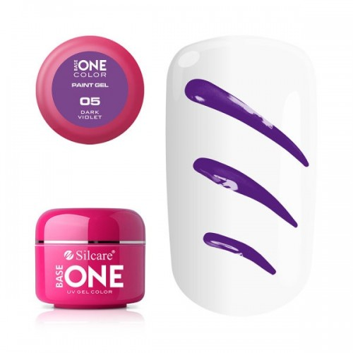 Paint Gel 02 Delicate Pink Silcare Base One  SILCARE