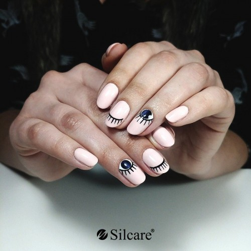Set 12 cutiute decoratiuni Inimioare decupate NAIL ART