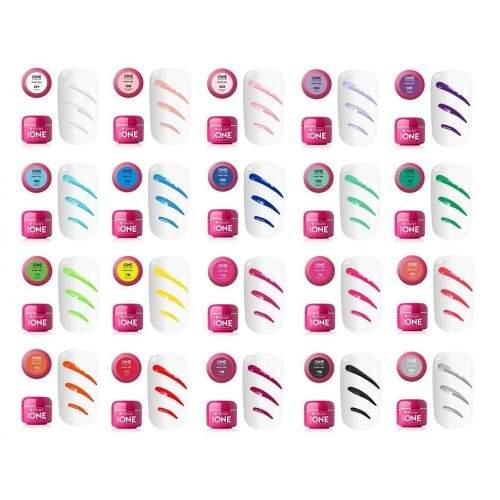 Set 12 pudre acrilice color pentru modele 3D NAIL ART