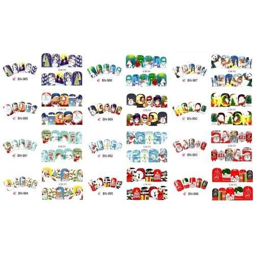 Rola 500 Sabloane Unghii Fluture Profesionale  HOLLYWOOD PERFECT NAILS