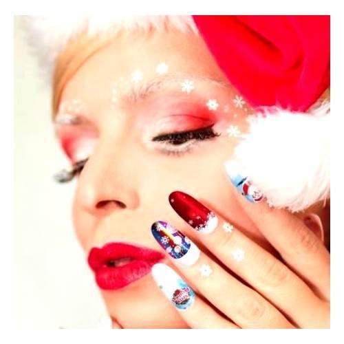 Pensula cu capac si cristale Varf Drept NB103-4 HOLLYWOOD PERFECT NAILS