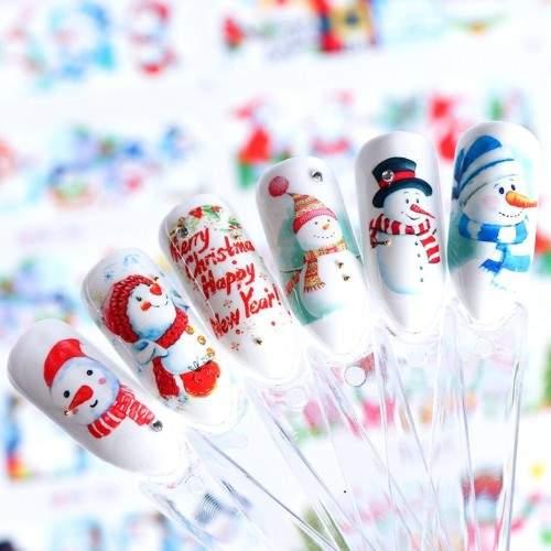 Rola 300 Sabloane Unghii Fluture Profesionale U2-5A HOLLYWOOD PERFECT NAILS