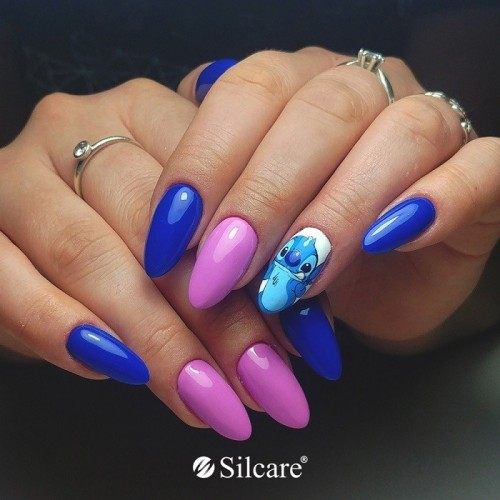 Glitter Neon Glow - Mermaid Efect by Silcare NAIL ART