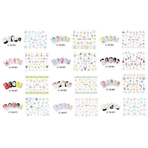 Tatuaje Unghii Pink Panther YB 496