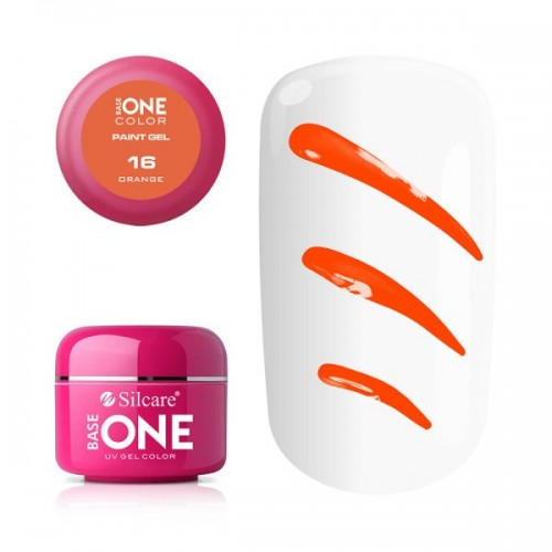 Paint Gel 13 Magenta Base One Silcare  SILCARE