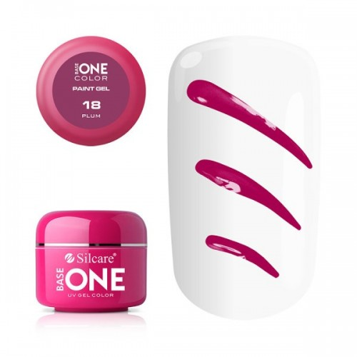 Paint Gel 15 Coral Base One Silcare  SILCARE