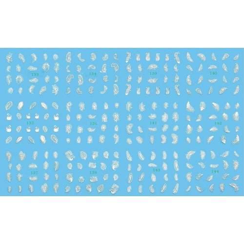 Pensula Gel Nr 4 Par Natural Dreapta Metalica Strasuri Flori 5904528785607 HOLLYWOOD PERFECT NAILS