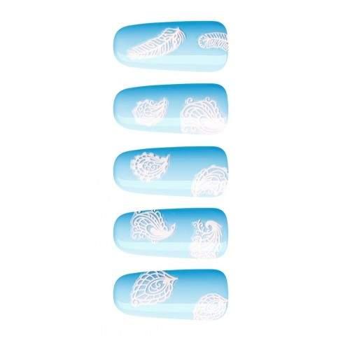 Pensula Polygel 2in1 Spatula 5903577349143 HOLLYWOOD PERFECT NAILS
