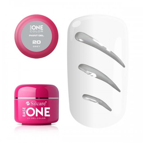 Paint Gel 17 Red Base One Silcare  SILCARE