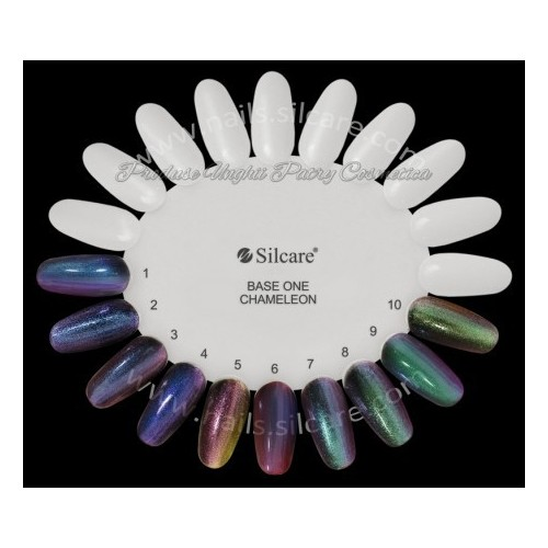 Gel Chameleon 02 Blue Butterfly Silcare Base One  SILCARE