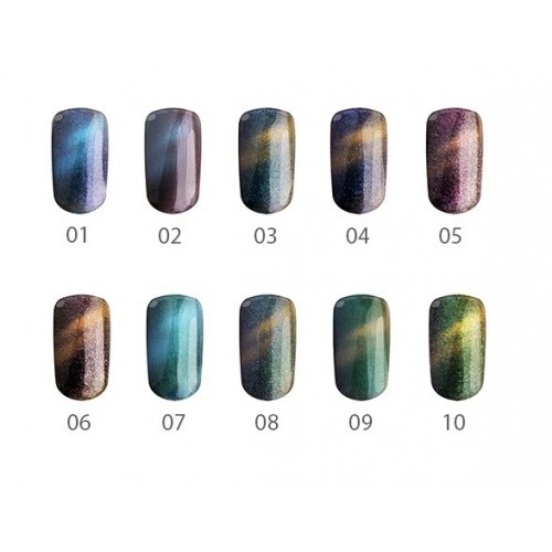 Gel Chameleon 06 Midnight Rose Silcare Base One  SILCARE