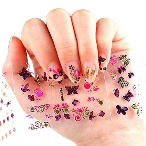 Tatuaje Unghii LR 1033 - 1044 pe Baza de Apa Hollywood Perfect Nails Produse