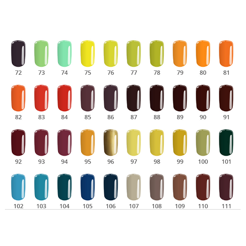 SET NAIL ART PENSULE GEL