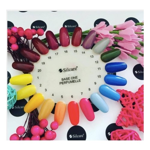 Gel Pastel 09 Beige Base One Silcare  SILCARE