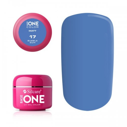 Gel Artisto 06 Floshy Red Base One Silcare  SILCARE