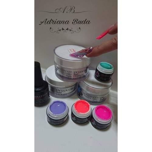 Super Color 25 Asphalt Grey Gel Unghii HPN  HOLLYWOOD PERFECT NAILS