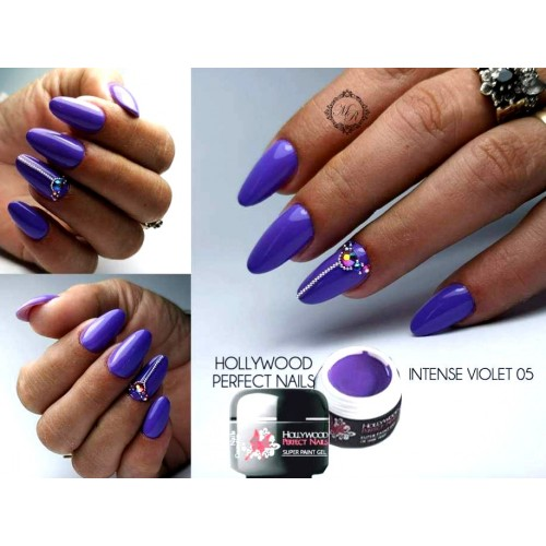 Super Color 26 Black Velvet Gel Unghii HPN  HOLLYWOOD PERFECT NAILS
