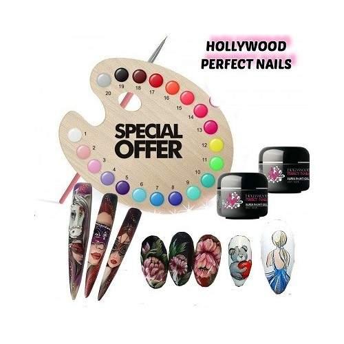Super Pigment 02 Sweet Lemon Gel Unghii HPN  HOLLYWOOD PERFECT NAILS