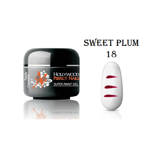 SUPER PIGMENT 08 CORAL GEL UNGHII HOLLYWOOD HOLLYWOOD PERFECT NAILS