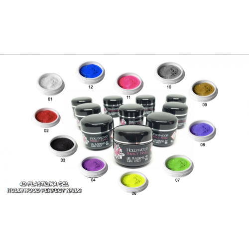SUPER PAINT 17 POPPY RED GEL UNGHII HOLLYWOOD PERFECT NAILS HOLLYWOOD PERFECT NAILS