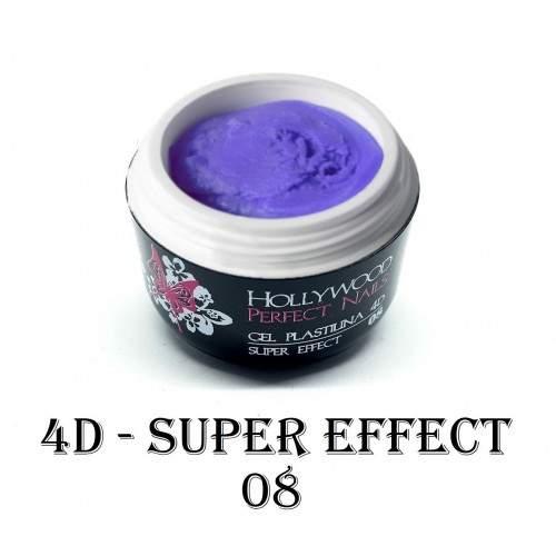 Super Paint 20 Grey Art Gel Unghii HPN  HOLLYWOOD PERFECT NAILS