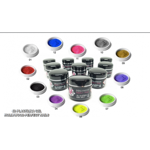 Super Paint 21 Silvert Art Gel Unghii HPN  HOLLYWOOD PERFECT NAILS