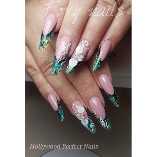 Super Paint 23 Red Art Gel Unghii HPN  HOLLYWOOD PERFECT NAILS