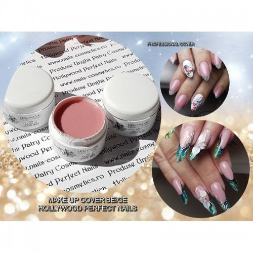 SUPER EFFECT 4D 04 PLASTILINA GEL UNGHII HOLLYWOOD HOLLYWOOD PERFECT NAILS