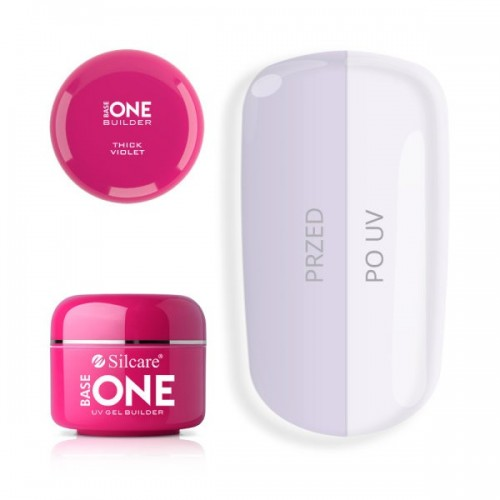 Diamond Touch Gel Unghii 3in1 Base One Silcare  SILCARE