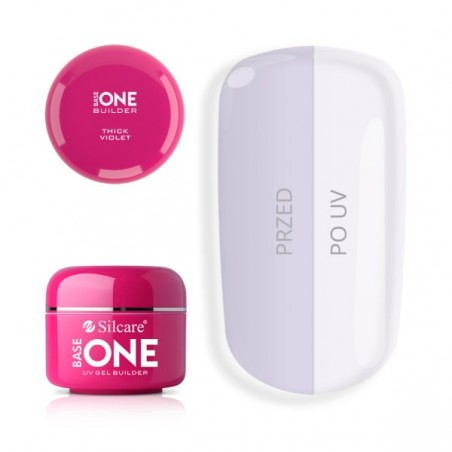COVER LIGHT Gel Unghii Base One Silcare SILCARE