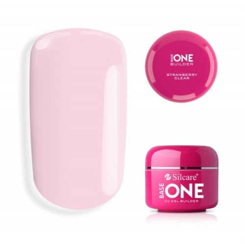 Raspberry Melon Gel Unghii Profesional Base One Silcare  SILCARE