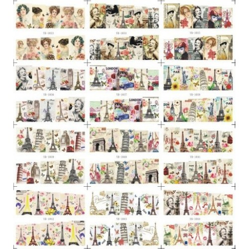 Tatuaje Unghii A 340 pe Baza de Apa