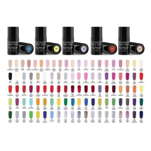 Set 8 Pensule Magice pentru Picturi Perfecte SKU000614 HOLLYWOOD PERFECT NAILS