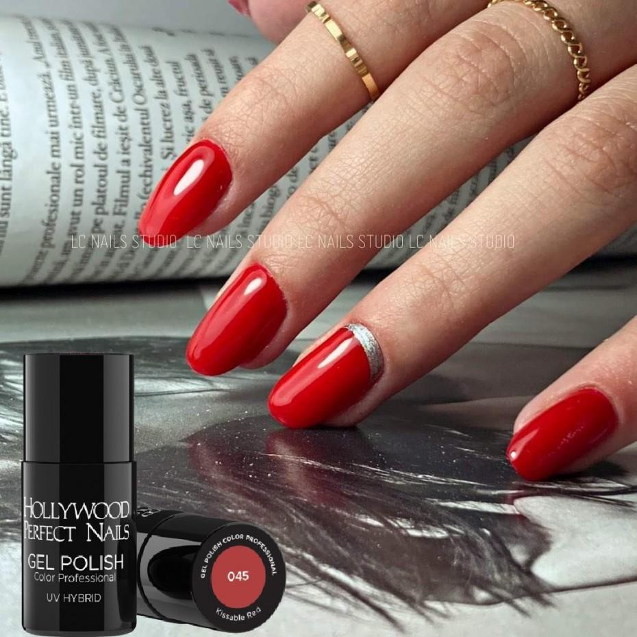 Pila Profesionala 100/180 Hollywood Perfect Nails  HOLLYWOOD PERFECT NAILS