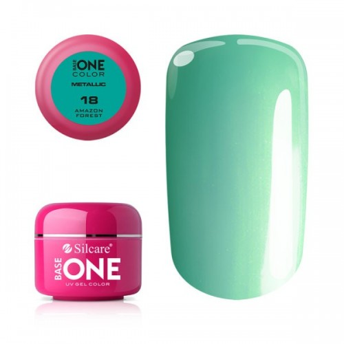 GEL METALLIC 02 - PEARL PINK BASE ONE SILCARE SILCARE