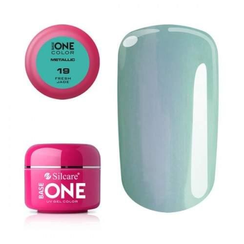 Gel Metallic 10 Pink Base One Silcare  SILCARE