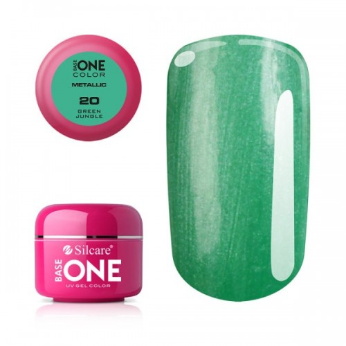 GEL METALLIC 04 - LIGHT PINK BASE ONE SILCARE SILCARE
