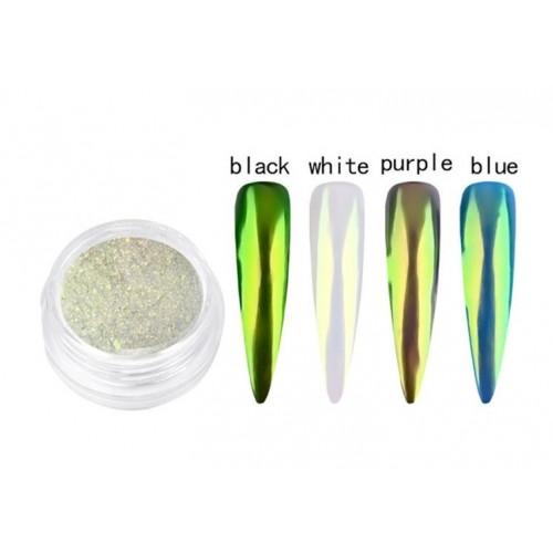 Folie de Transfer Gold Reflex Unghii OR 10  HOLLYWOOD PERFECT NAILS