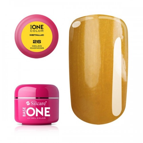 GEL METALLIC 10 - PINK BASE ONE SILCARE SILCARE