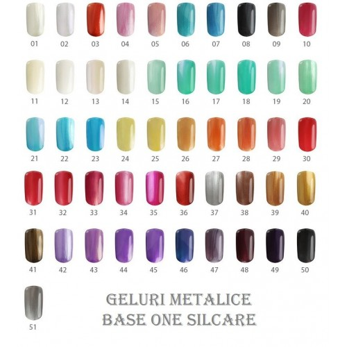 GEL METALLIC 24 - LEMON TREE BASE ONE SILCARE SILCARE