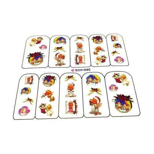 Caviar Unghii NEGRE ARGINTII Micro Decoratiuni 1440 piese ORANJOLIE