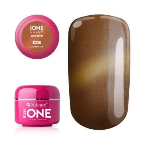 Gel Metallic 44 Violet Shimmer Base One Silcare  SILCARE