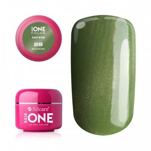 GEL CAT EYE 01 SERWAL SILCARE BASE ONE SILCARE