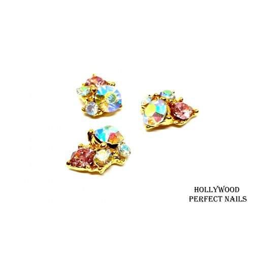Folie de Transfer Galaxy Set 10 01 HOLLYWOOD PERFECT NAILS